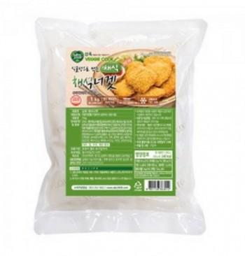 삼육유기농자연식품 채식 너겟 1kg 콩으로만든 고기